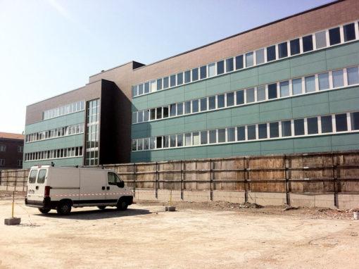 Impianto industriale Zucchini (via di Corticella, BO)